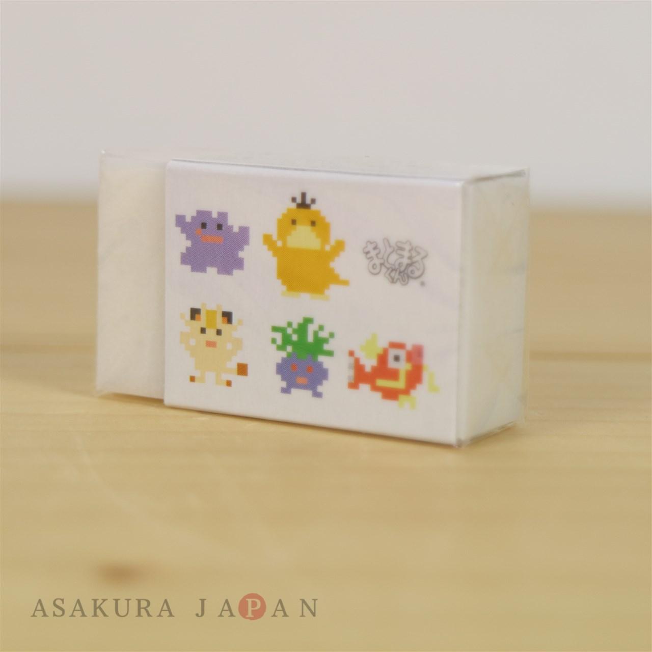 Pokemon Center 2018 Dot Pixel Pokemon Eraser Matomaru-kun