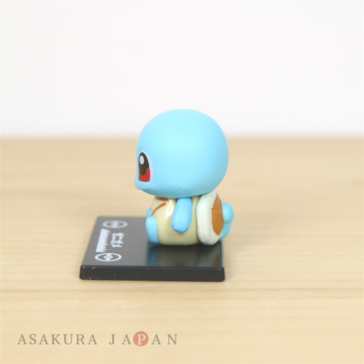 Pokemon BANDAI Colle chara vol.1 #2 Squirtle Mini Figure with name pedestal