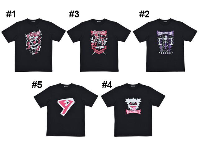 T-shirt collection #3 Team Yell Pokemon Center Original #GOGO!YELL!